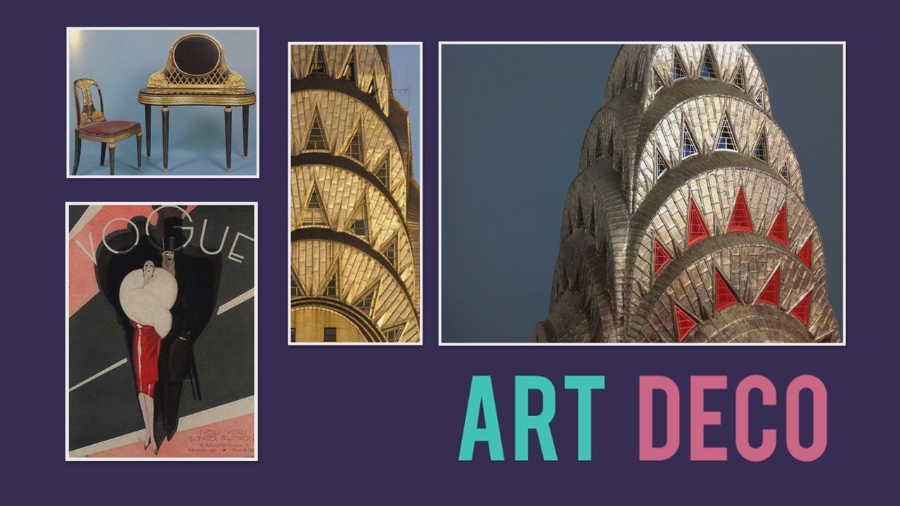 Architectural Style Art Deco The Chrysler Building Youtube