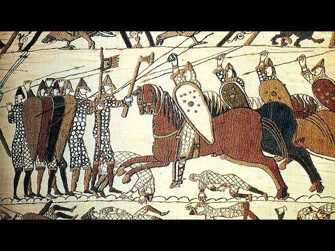 La tapisserie de bayeux la reine mathilde guillaume le conqu rant artracaille 03 02 2009 - Tapisserie de bayeux animee ...