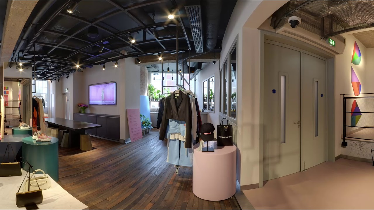 5c2d10a02 Shop the World with Farfetch in 360°: Browns East, London - YouTube
