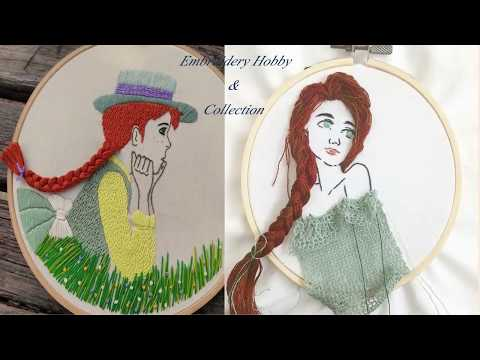 Hand Embroidery Stitch/Beautiful Girls Hand Embroidery Stitch By Embroidery Hobby & Collection