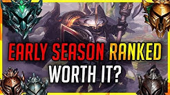 Early Season Ranked – Lohnt es sich?   League of Legends Season 10 [League of Legends]