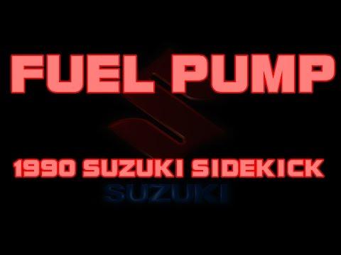 1990 Suzuki Sidekick – How To Replace The Fuel Pump