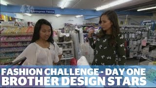 Brother Design Stars - Fashion Boot Camp: Day One