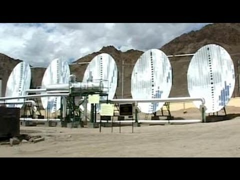 How villages in Leh survive on solar energy