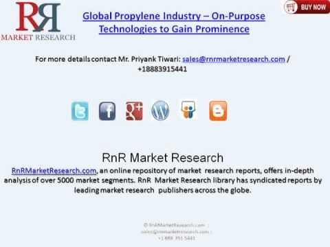 Global Propylene Industry Growth and Trends