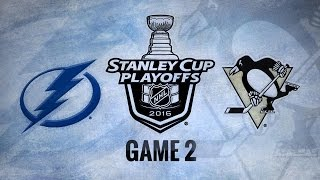 Crosby's OT winner gives Penguins 3-2 win in Game 2