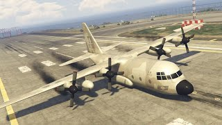 GTA 5 AIRPLANE ENGINE FAILURES, EMERGENCY LANDINGS!!!