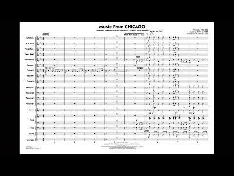 Music from Chicago arranged by Roger Holmes