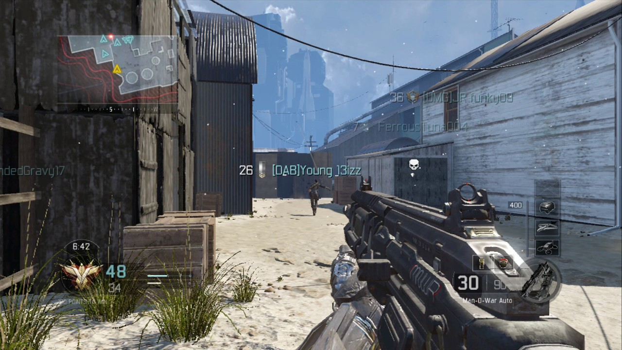 Call Of Duty Black Ops 3 Team Deathmatch Xbox 360 Gameplay Use
