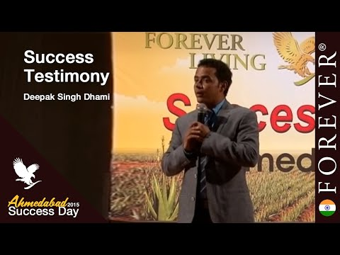 Success Story by Deepak Singh Dhami at Ahmedabad Success Day