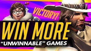 "Overwatch | 3 Ways to WIN MORE ""Unwinnable"" Games in Ranked"
