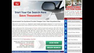 Police Car Auctions - Police Car Auctions Website