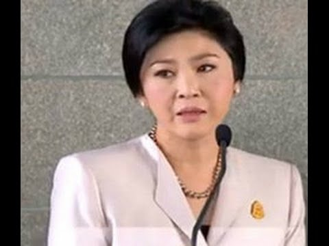 Thai Prime Minister Ying Luck Under Protest Pressure