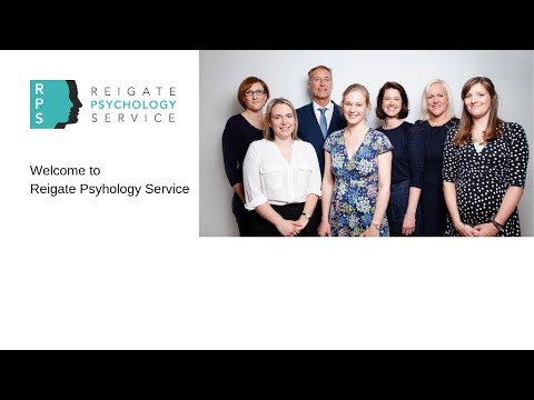 Welcome to Reigate Psychology Service