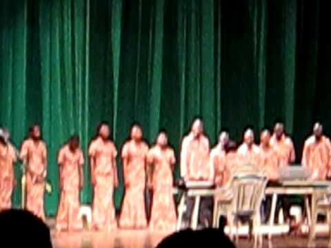 Oguaa Youth Choir at the Ghana National Theatre