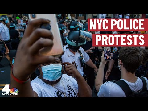Day 5 of Protests Over George Floyd's Death in NYC  | NBC New York