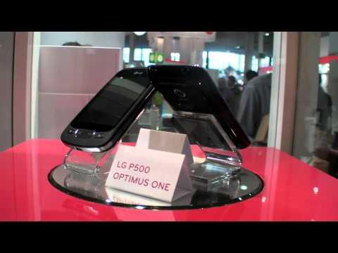 LG P500 Optimus One and LG E720 Optimus Chic