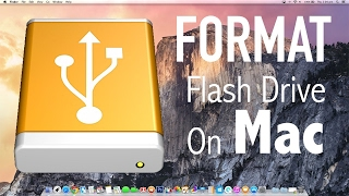 How To Format A Flash Drive Usb Pen Drive On Mac OS X!   YouTube