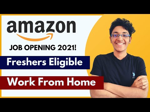 Amazon TRON Job 2021 | Work From Home Job | Fresher Jobs In Delhi | Fresher Jobs In Bangalore