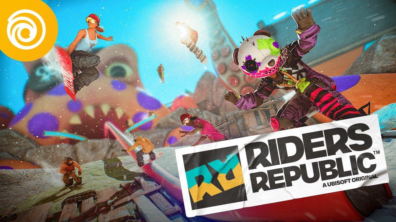 Riders Republic - Deep Dive Tráiler