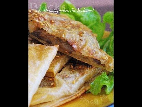 recette-végétarienne-:-feuilletés-aux-champignons-à-la-pâte-filo
