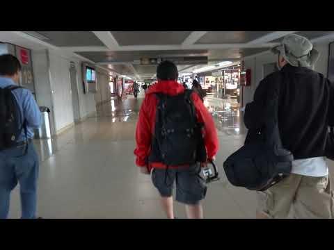 Guatemala City La Aurora Int'l Terminal Walk