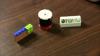How To Build Computer, Desk And Power Source With Legos