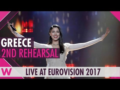 """Second rehearsal: Demy """"This Is Love"""" (Greece) Eurovision 2017 