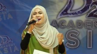SALMA ASIS - #DACADEMYASIA2 MALAYSIA AUDITION 05082016(D'OR ENTERTAINMENT TALENT)[FULL HD]