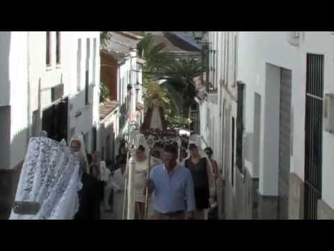 1ª parte - Procesión de la Virgen del Rosario Patrona de El Gastor -