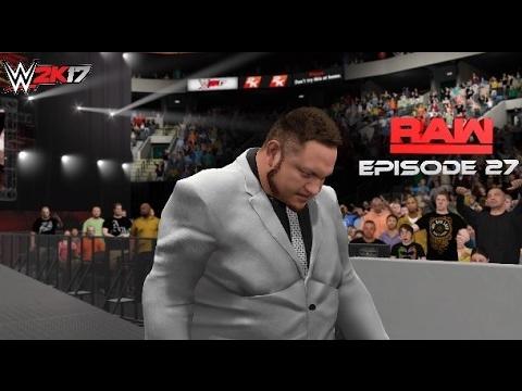 WWE 2K17 Monday Night Raw Story Mode Episode 27
