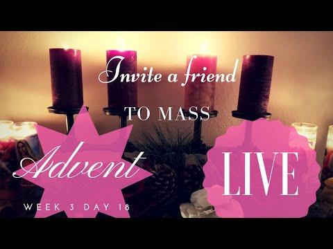 Invite Someone To Mass!