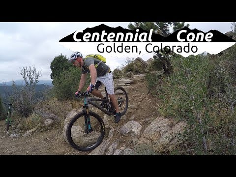 No Hikers Allowed :||: Mountain Biking Centennial Cone :||: Golden Colorado