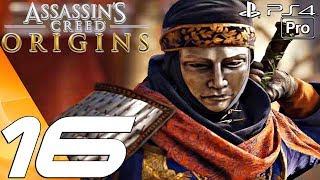 Assassin's Creed Origins - Gameplay Walkthrough Part 16 - Venator & Blade of the Goddess (PS4 PRO)