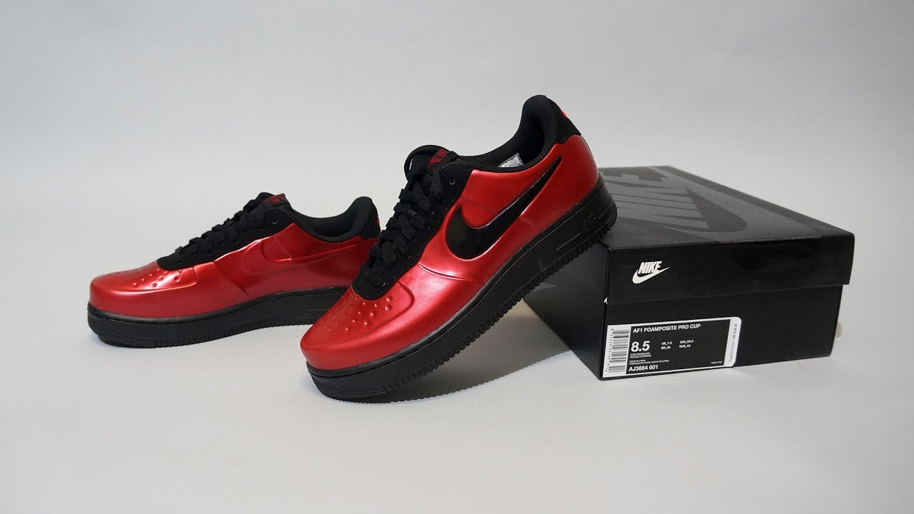 brand new 0ea09 a03be Nike Air Force 1 Foamposite Pro Cup