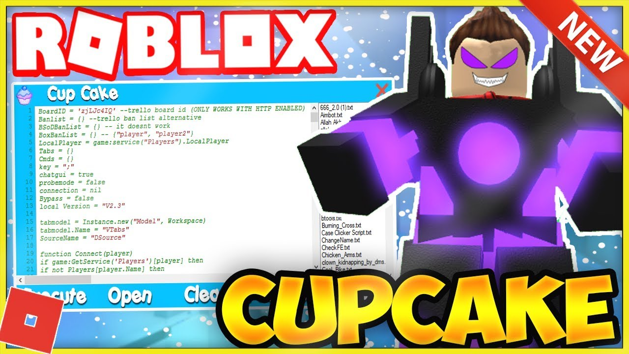 New Roblox Exploithack Cupcake Works Lvl 7 Full Lua Exec W