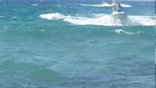 Крит. Малия Бич. 2012.(Водный спорт на пляже отеля Малия Бич. Остров Крит., 2013-03-03T09:47:11.000Z)