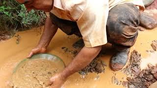 Oro en rio seco