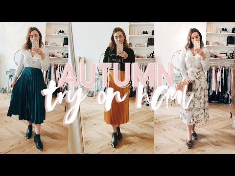 Autumn Try-On Haul! // KATE LA VIE