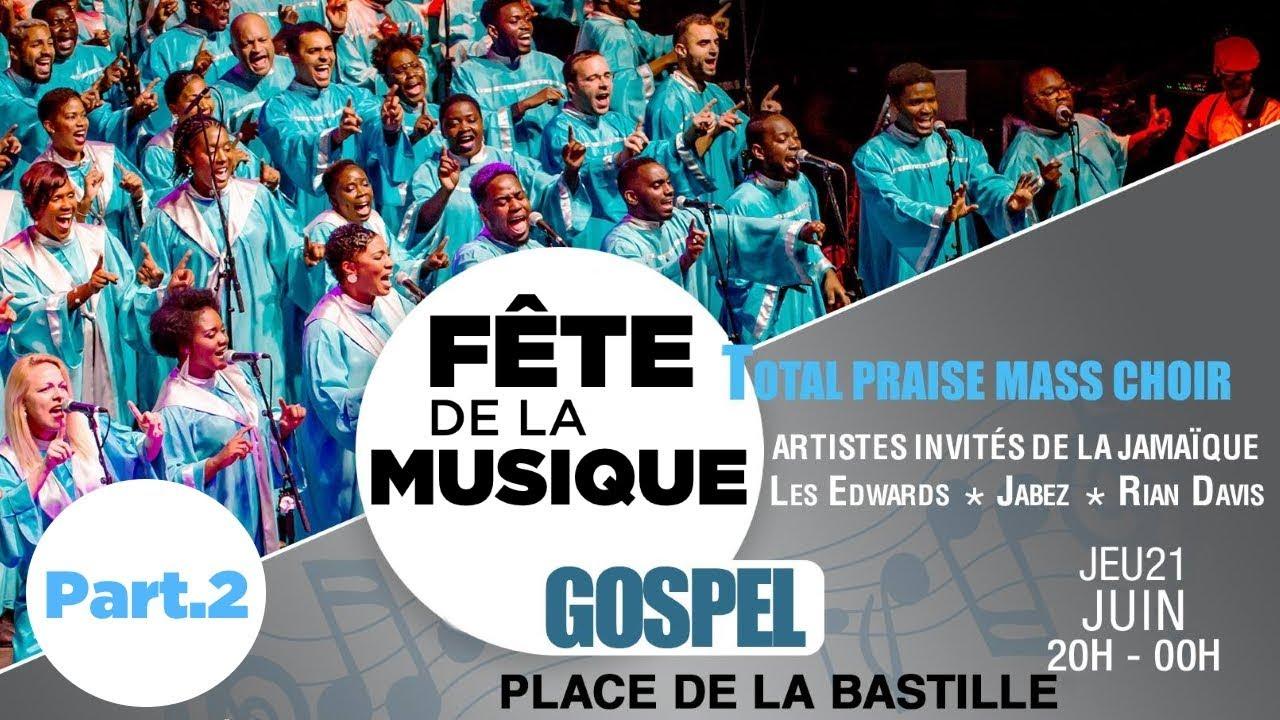 Fête de la Musique Gospel 2018 (Partie 2)