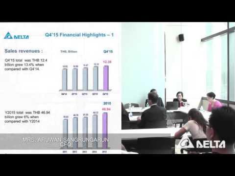Analyst Meeting Q4/2015