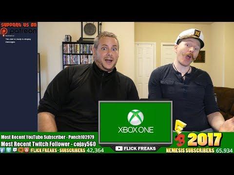 Xbox Microsoft Conference ~ E3 2017 (Reaction & Review) [LIVE!]