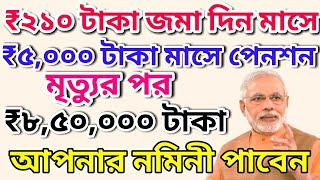 Atal Pension Yojna | for all Citizens | How to apply in West Bengal | How to Withdraw Benefit ?