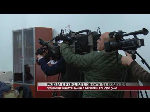 Pajisja e përgjimit, debate Tahiri-Noka në komision - News, Lajme - Vizion Plus
