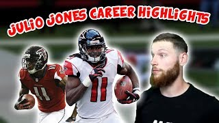 Rugby Player Reacts to JULIO JONES Career NFL Highlights!