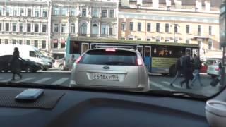 Автонакат - Урок автовождения по городу