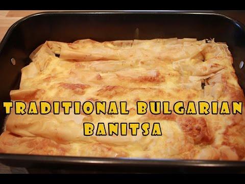 Traditional Bulgarian Banitsa! - Баница (Serves 3-4)