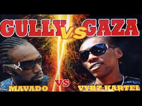 Mavado vs Vybz Kartel  (Gully Vs Gaza) Throwback Mix By Djeasy