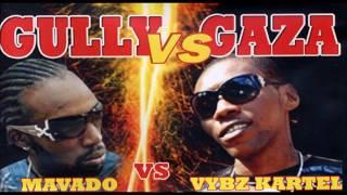 Mavado vs Vybz Kartel  (Gully Vs Gaza) Throwback Mix By Djeasy