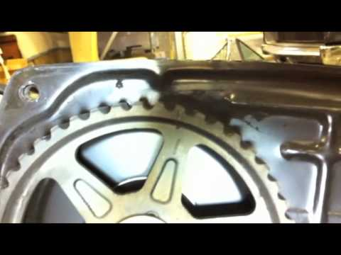 Aligning the dual-cam pulleys - YouTube